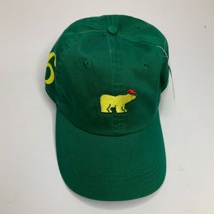NWT AHEAD Golf Hat Green Jack Nicklaus Bear